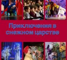 Представление артистов из г. Краснодара «Приключения в снежном царстве»