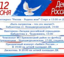 Приглашаем на празднование Дня России