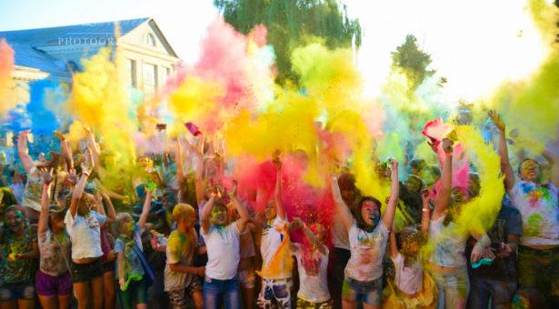 Фестиваль красок в ст. Новоджерелиевской