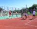 Открытие спортивной площадки в хуторе Челюскинец