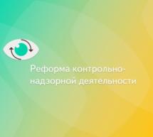 «Реформа контрольной и надзорной деятельности».