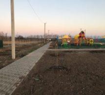 Прошел завершающий этап благоустройства парковой зоны по ул. Кубанской!