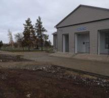 В Бейсугском завершаются работы по благоустройству парковой зоны!