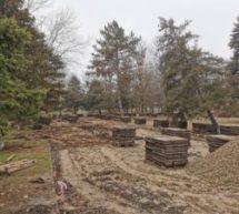 В Новоджерелиевской начался второй этап благоустройства парка
