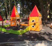 Благоустройство парковой зоны в станице Новоджерелиевской!